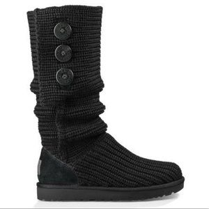UGG Classic Carey Knit boots